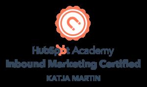 Hubspot Marketing Certificate
