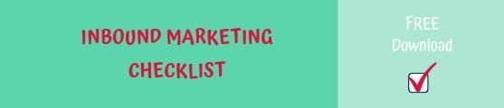 Download banner Inbound Marketing Checklist