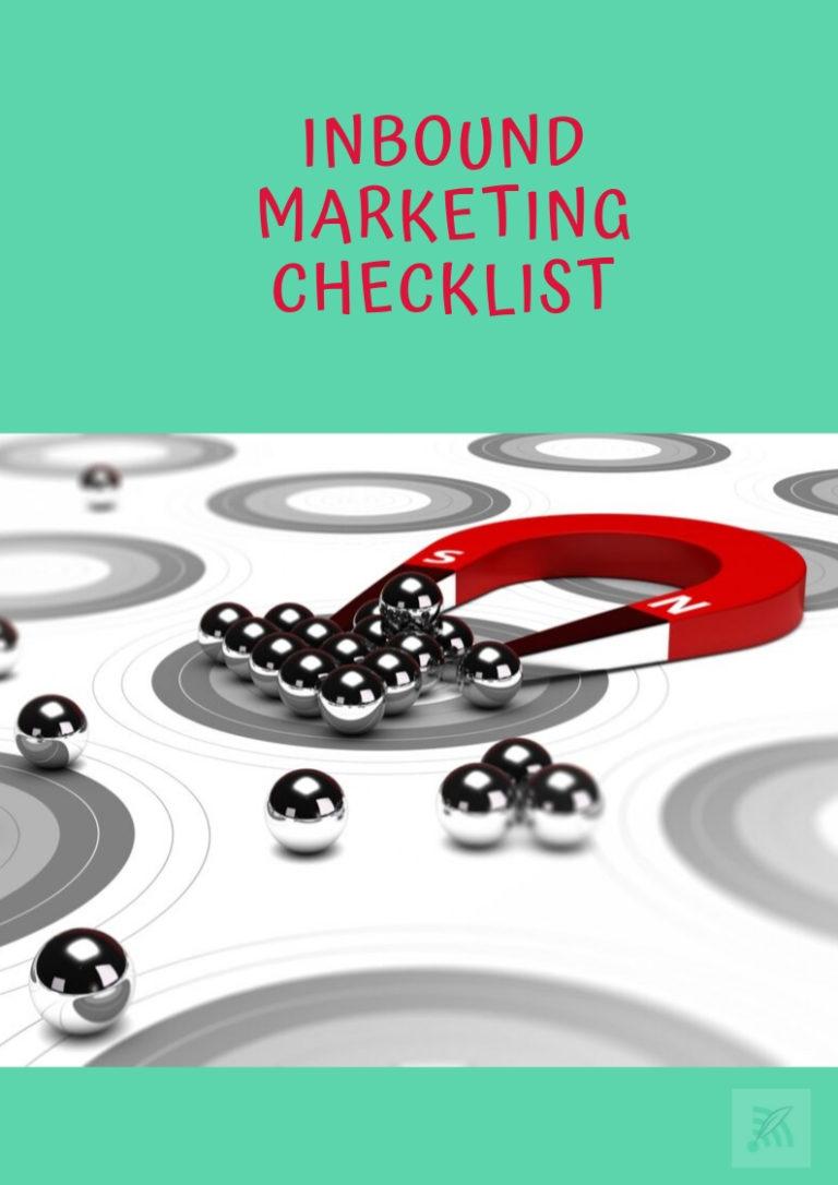 Inbound Checklist | Digitle Marketing and Medical Writing | Medtextpert