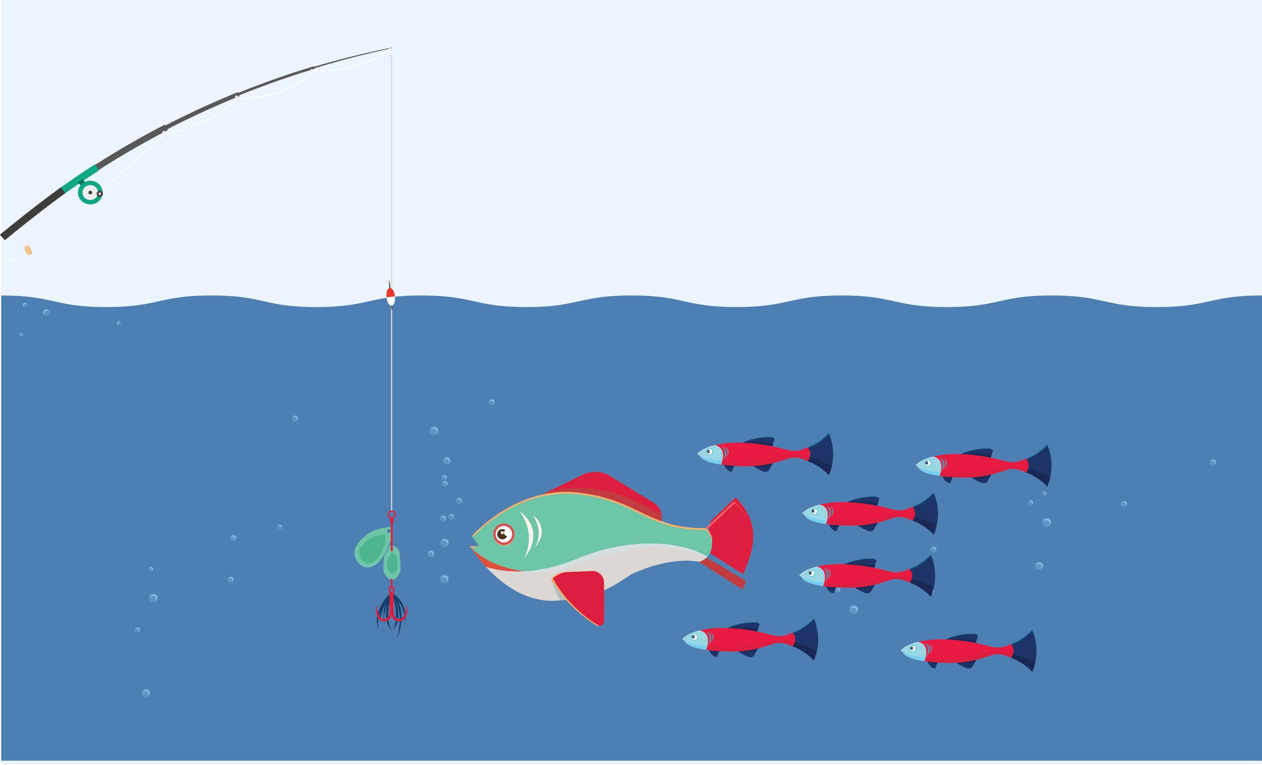 Inbound Marketing Illustration