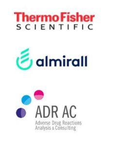 ThermoFisher, Almirall, ADRAC logo