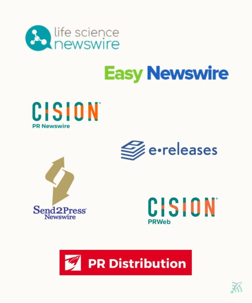 Overview of different press release providers